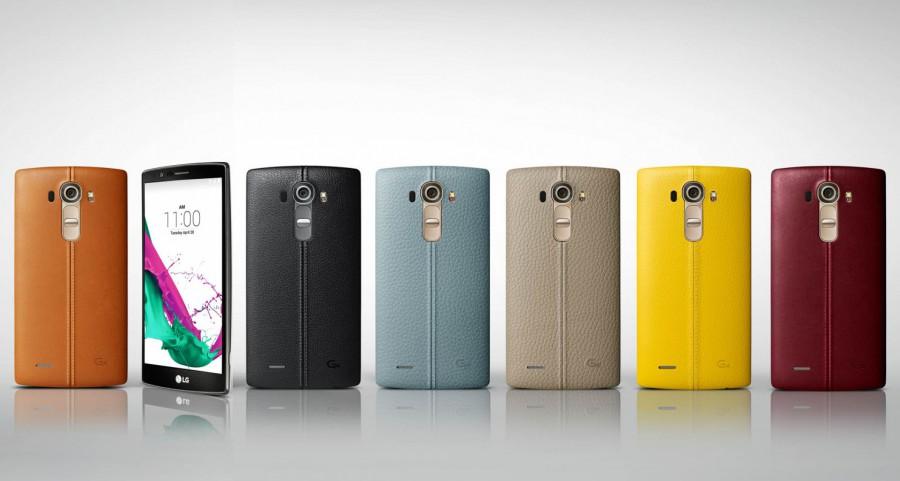 LG G4-ассортимент