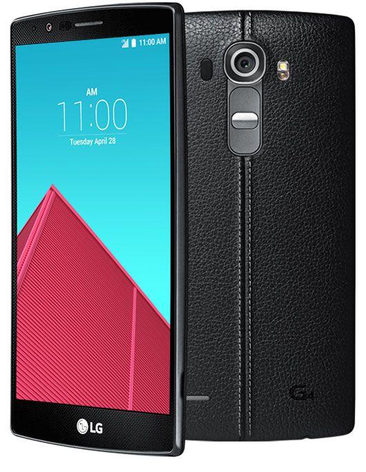 LG G4 black-кожа экран и тыльная панель