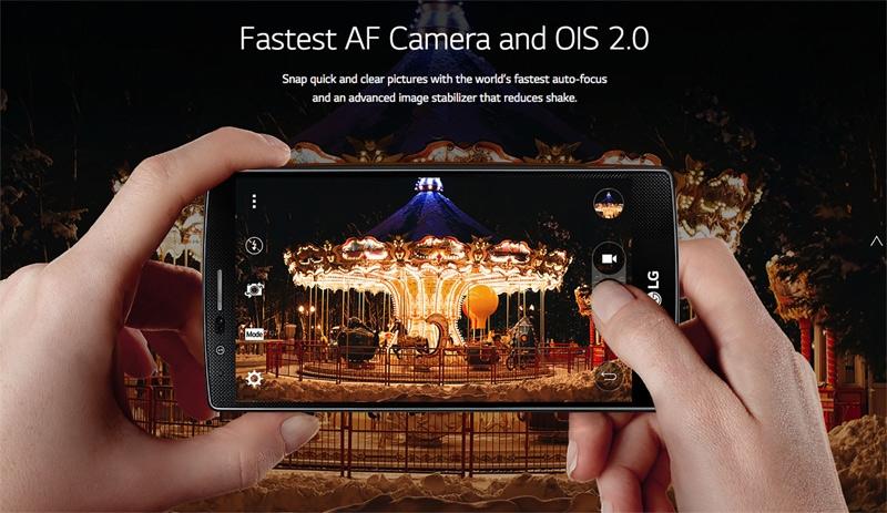 LG G4-camera съемка