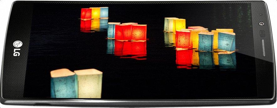LG G4-дисплей новинки