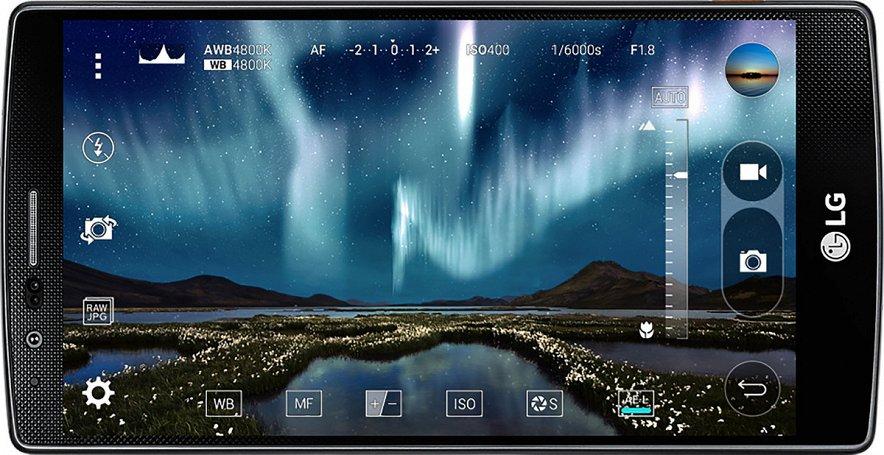LG G4-дисплей