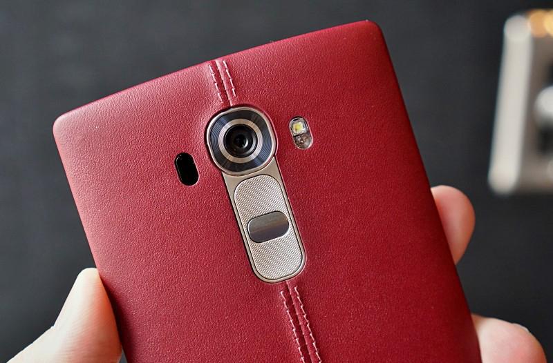 LG G4-камера крупный план
