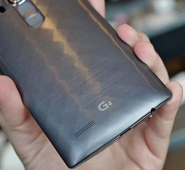 LG G4-логотип крупный план