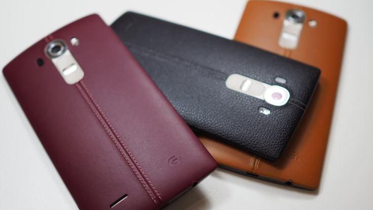 LG G4-расцветки и габариты