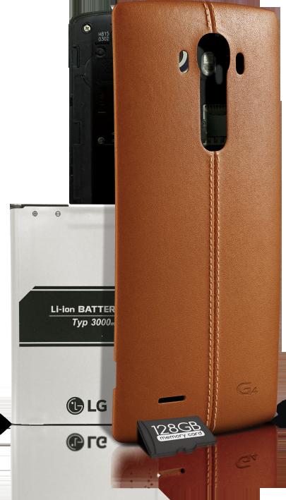 LG G4-с картой памяти