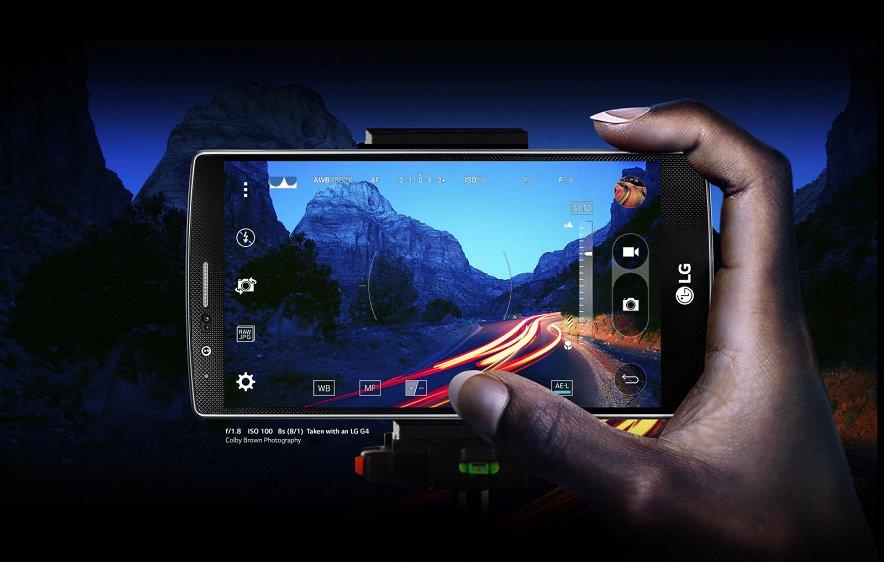 LG G4-съемка