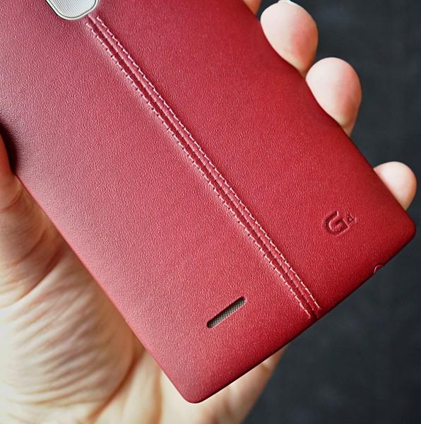 LG G4-в руках живое фото