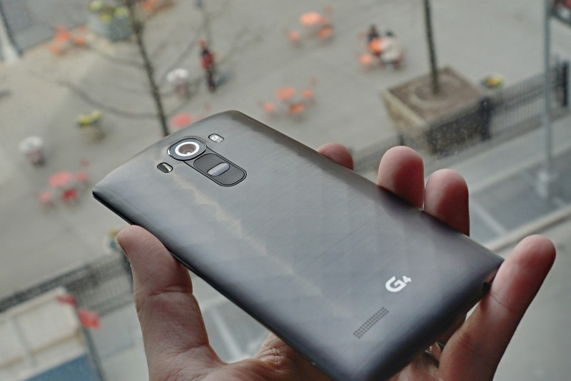 LG G4-в руках