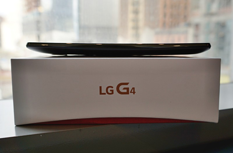 LG G4-живое