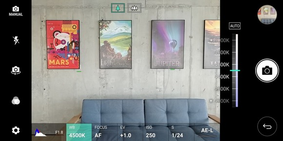 LG G6-Manual photo mode