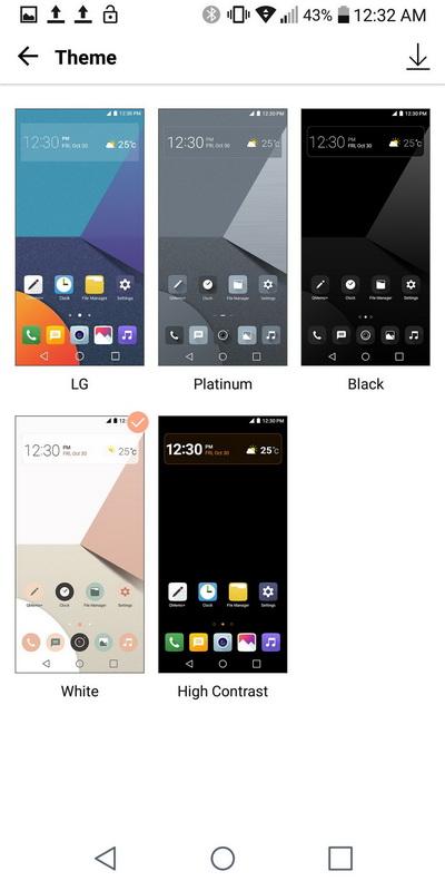 LG G6-Theme