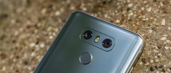 LG G6-дактилоскопический сенсор