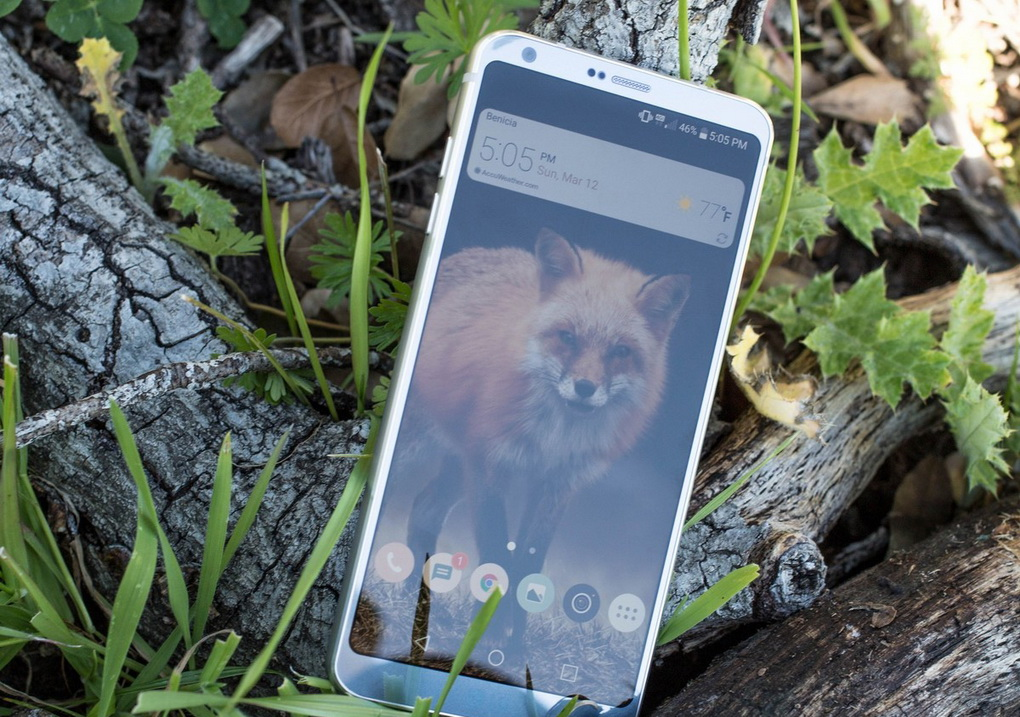 LG G6-экран