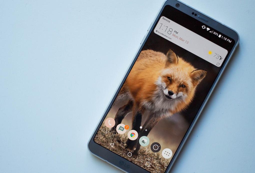 LG G6-экран смартфона