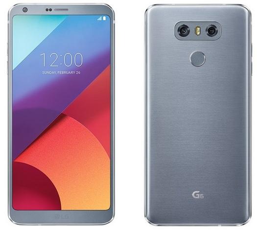 LG G6-пресс