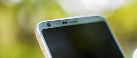 LG G6-рамки вокруг экрана