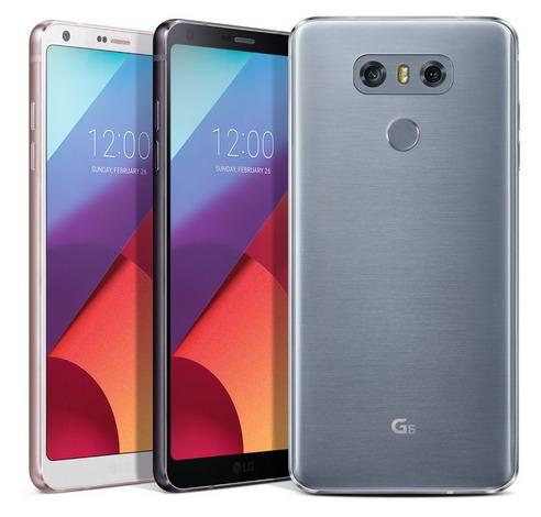 LG G6-расцветки смартфона