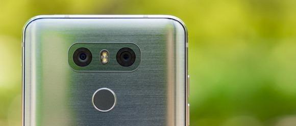 LG G6-сдвоенная тыловая камера