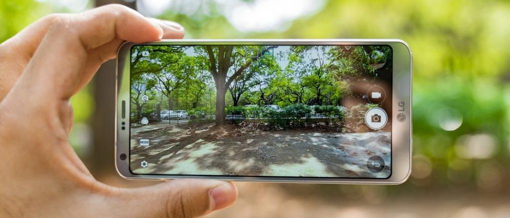 LG G6-съемка контента