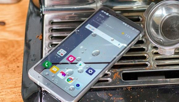 LG G6-защита от влаги и пыли стандарт
