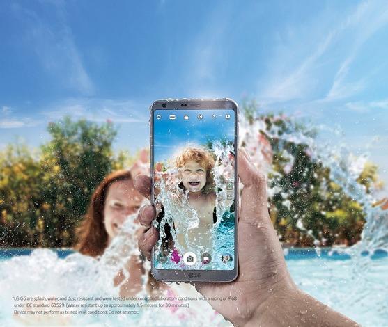 LG G6-защита от влаги