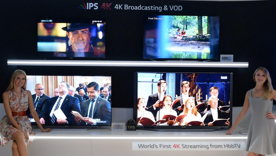 LG IPS TV-4k презентация