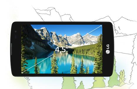 LG L Fino Dual D295 - Дисплей