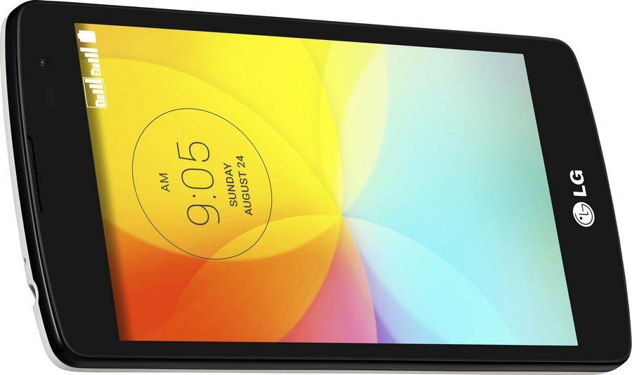 LG L Fino Dual D295 - Вид сбоку