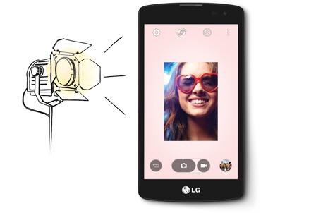 LG L Fino Dual D295 - Виртуальная вспышка фронтальной камеры