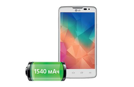 LG L60 Dual X135 Белый-аккумулятор