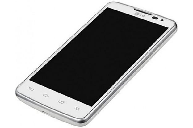LG L60 Dual X135 Белый-экран