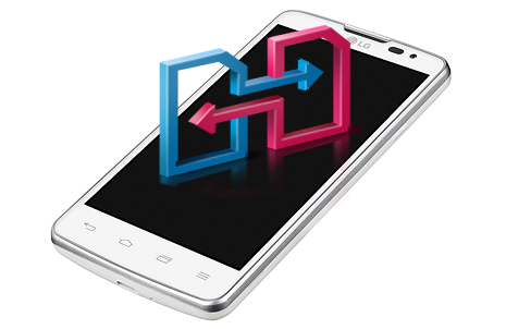 LG L60 Dual X135 Белый-поддержка двух SIM-карт