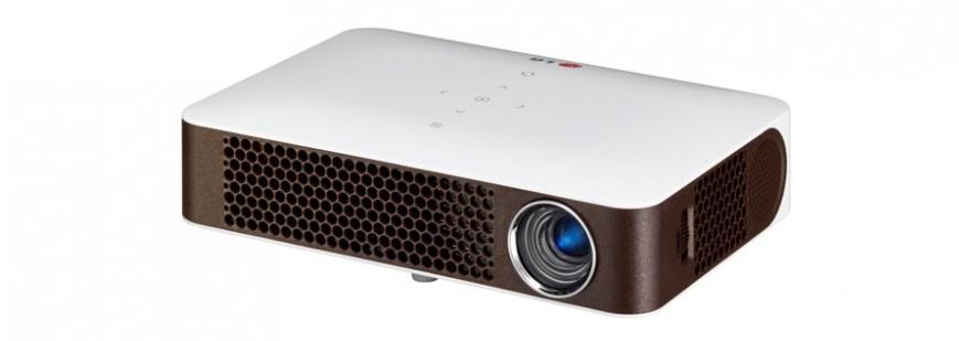 LG MiniBeam PW700-проектор