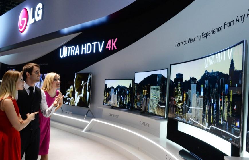 LG OLED TV-4k-разрешение презентация
