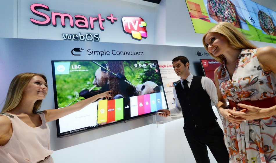 LG SMART TV-web os