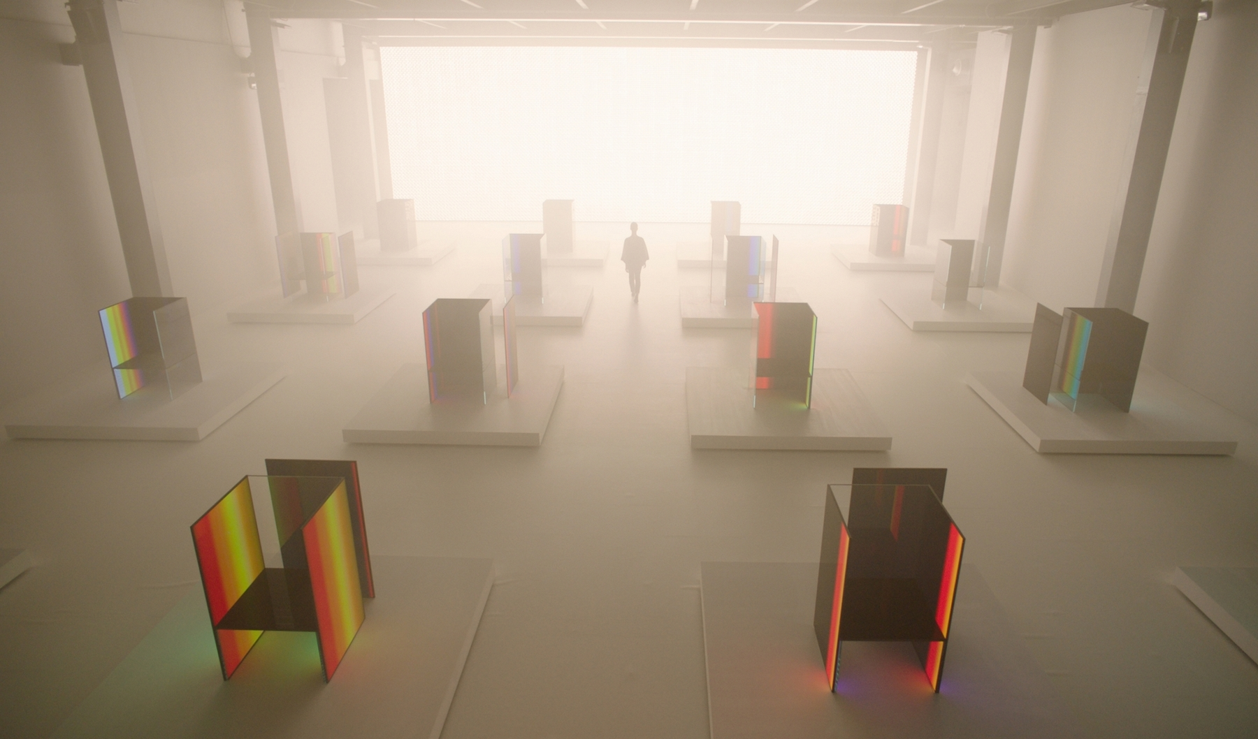 LG and Tokujin Yoshioka Milano DesignWeek 1