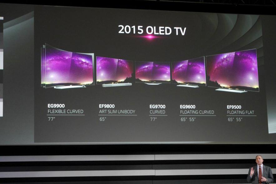 LG-новинки OLED телевизоров