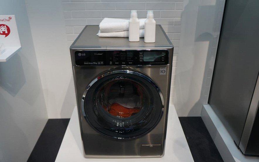 LG-стиральные машины фото с выставки