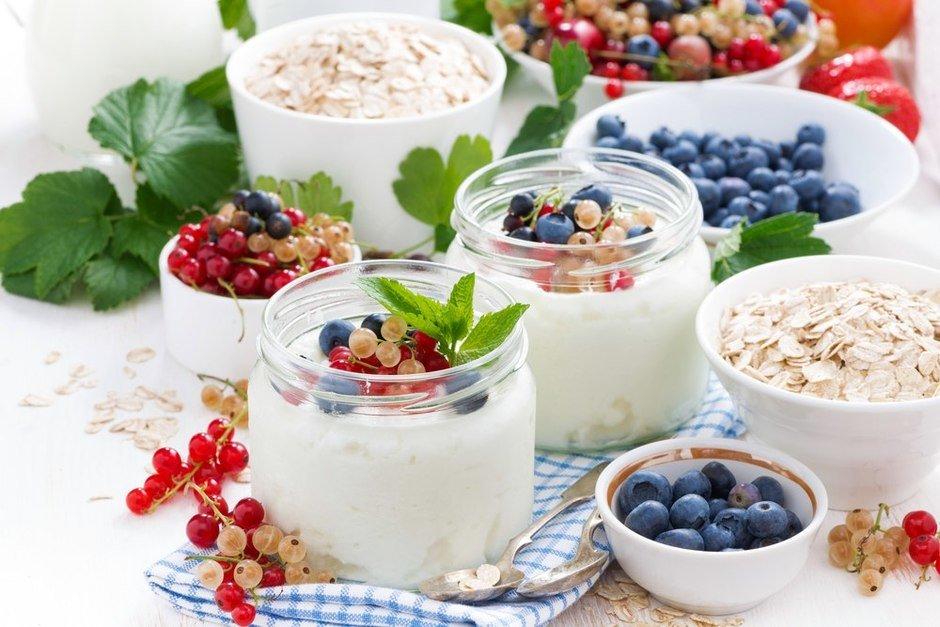 Лечебный и питательный йогурт