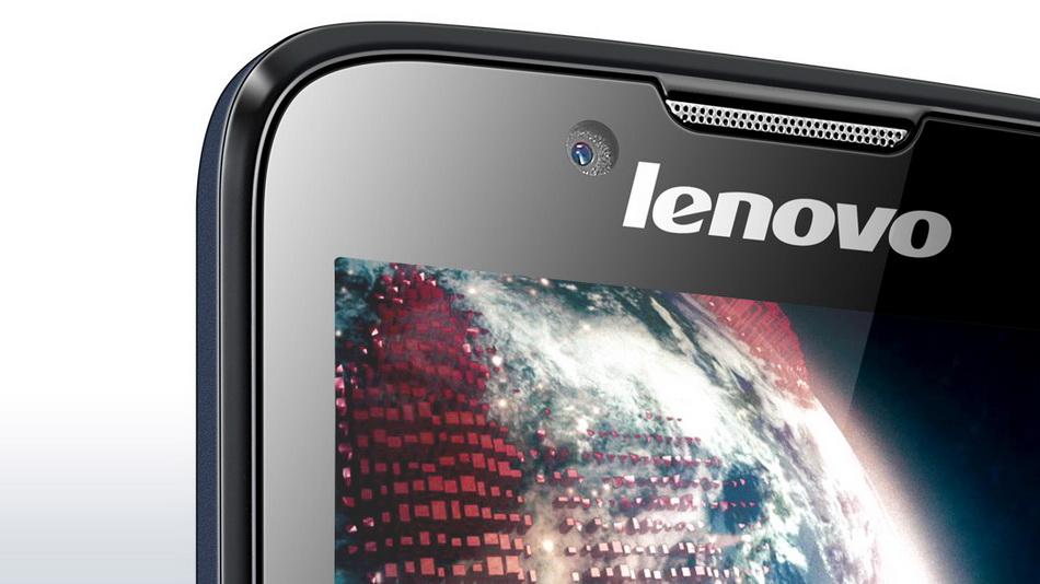 Lenovo A328 Dark Blue-фронтальная камера