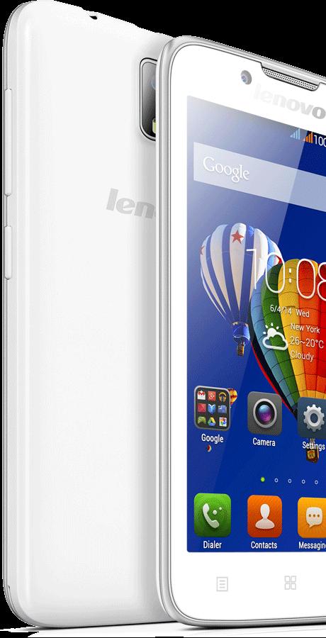 Lenovo A328-интерфейс