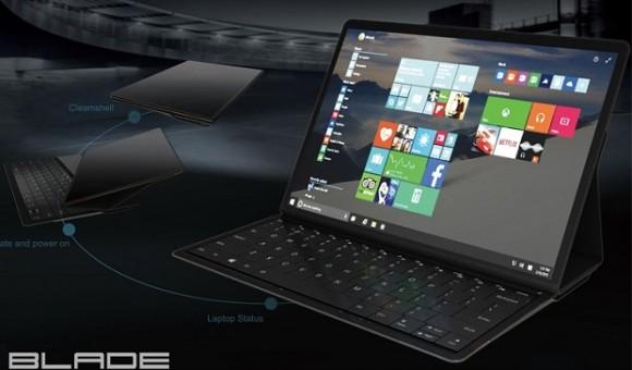 Lenovo Blade — необычный гибрид планшета и ноутбука