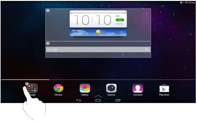 Lenovo Tab 2 A10-70 - Пользовательский интерфейс