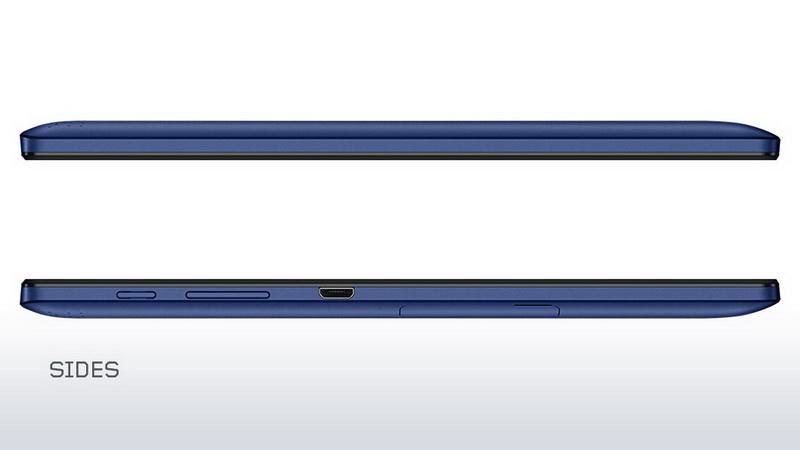 Lenovo Tab 2 A10-70 - Левая и правая грани