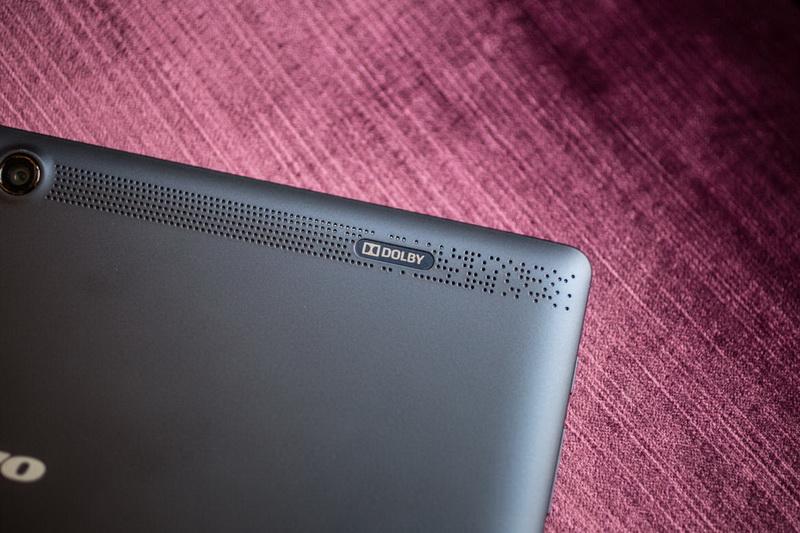 Lenovo Tab 2 A10-70 - Улучшенная аудиосистема