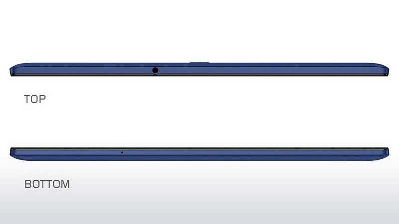 Lenovo Tab 2 A10-70 - Верхняя и нижняя грани