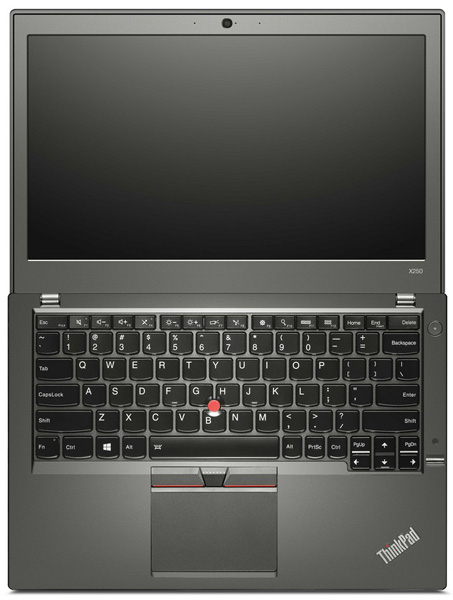 Lenovo ThinkPad X250-в развернутом виде