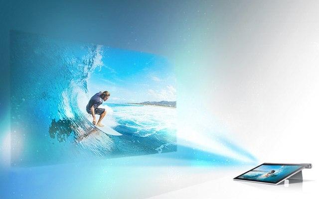 Lenovo YOGA Tablet 2 Pro-проекция