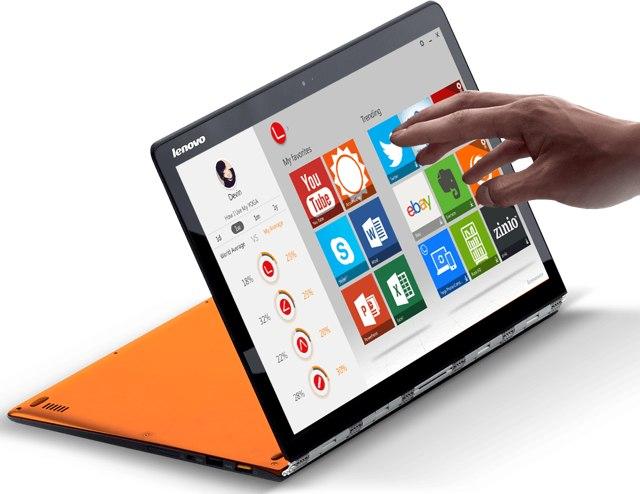 Lenovo Yoga 3 Pro-в работе