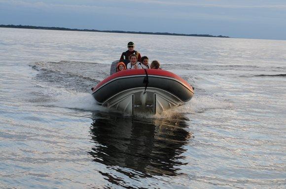 Лодка типа RIB